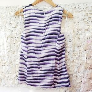 Cache Tops - Cache silk spandex twisted knot top